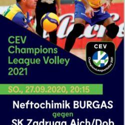 Bild zum Eintrag: Volleyballfans aufgepasst ! Champions League - Tur...