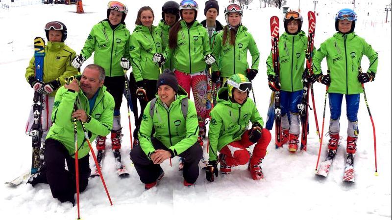 Slika: Avstrijsko šolsko prvenstvo v alpskem smučanju
