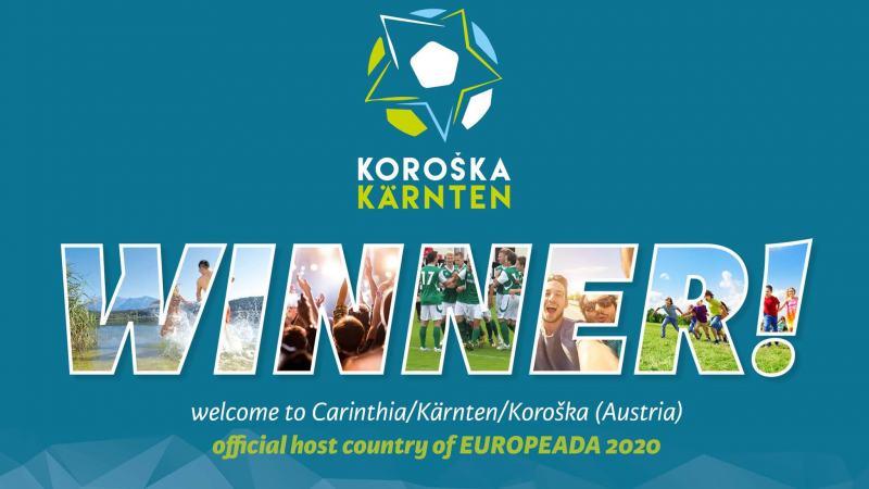 """Slika: """"Dobrodošla Evropa!"""" - Koroška bo leta 2020 gostila Europeado!"""