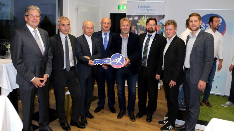 Slika: Odprtje novih prostorov Slovenske športne zveze