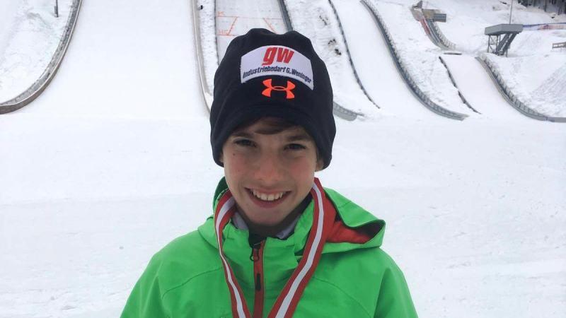 Slika: Julijan Smid avstrijski prvak v skokih