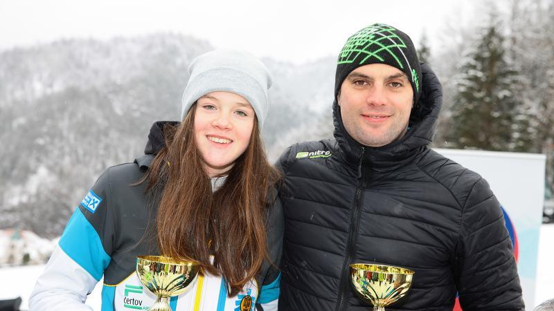 Bild: Tamina Oraže & Bojan Trost Tagesschnellste beim Auftaktrennen zum 8. Kärntner Pokal