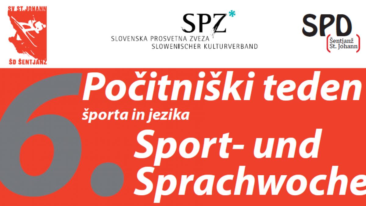 Slika: Počitniški teden športa in jezika v Šentjanžu