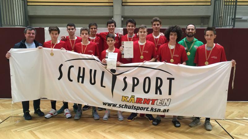Slika: Koroško šolsko prvenstvo v košarki