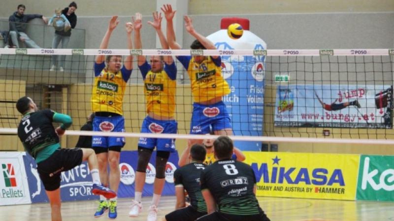 Bild: Aich/Dob verliert erneut gegen Graz
