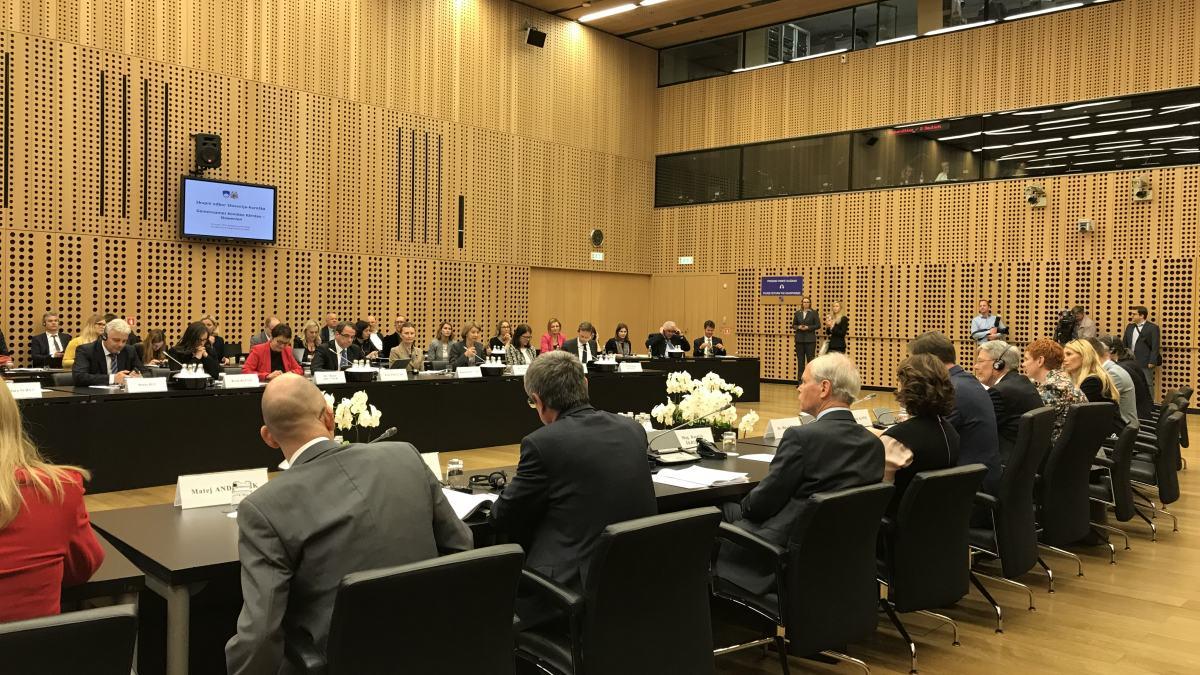 Slika: Plenarno zasedanje