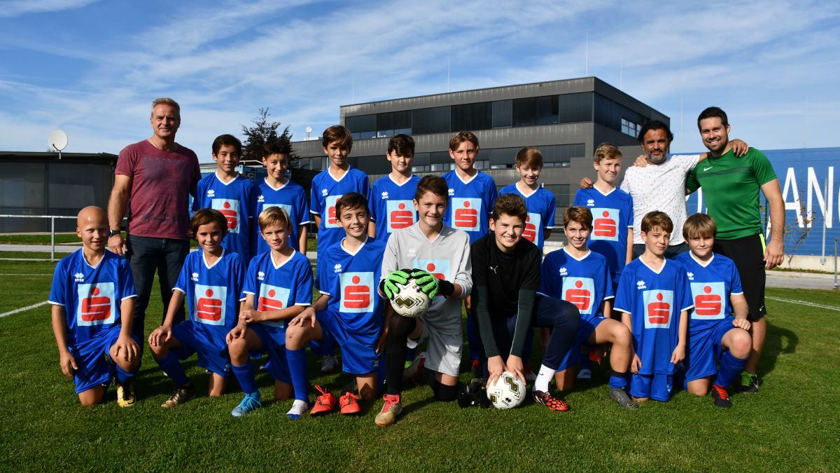 Slika: Uspešni nogometaši SLOG
