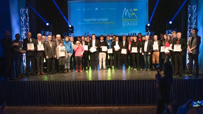 """Bild: Gruppenauslosung für die """"Europeada 2020"""""""