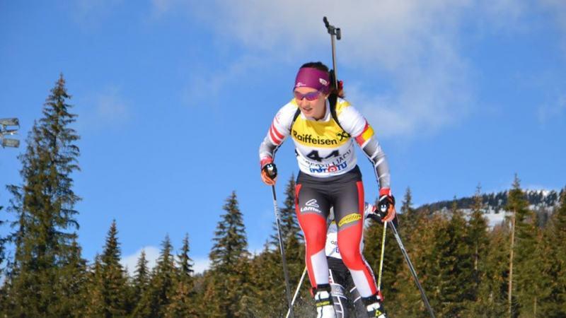 Bild: Dunja Zdouc mit ÖSV Staffel auf Platz sieben