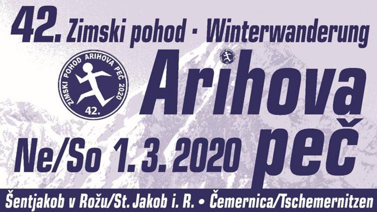 """Bild: 42. Winterwanderung »ARIHOVA PEČ"""""""