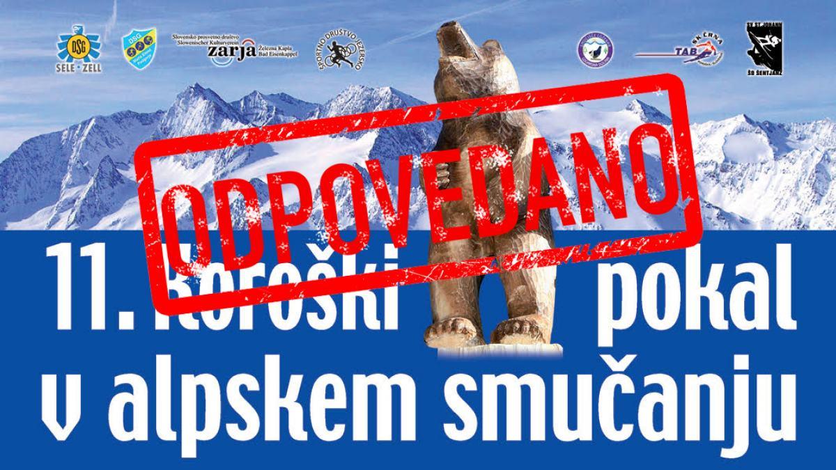 Slika: Koroški pokal ODPOVEDAN!