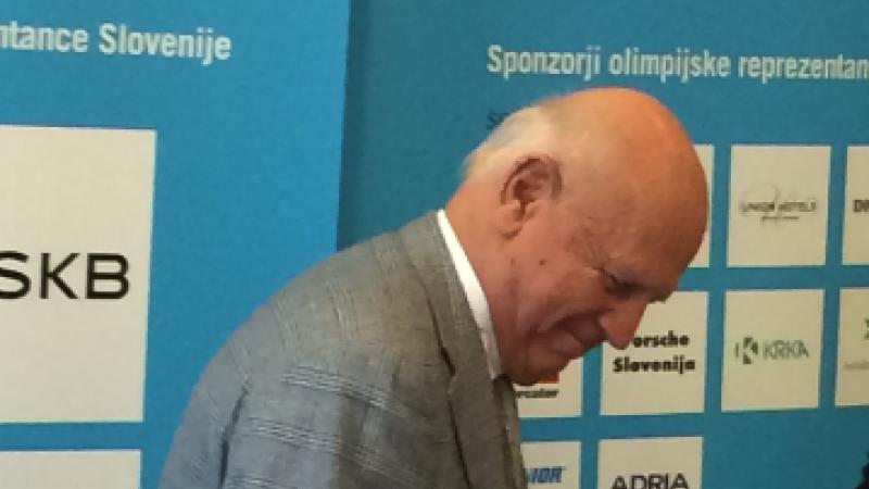 Bild: Slowenisches Olympisches Komitee trauert um Janez Kocijančič