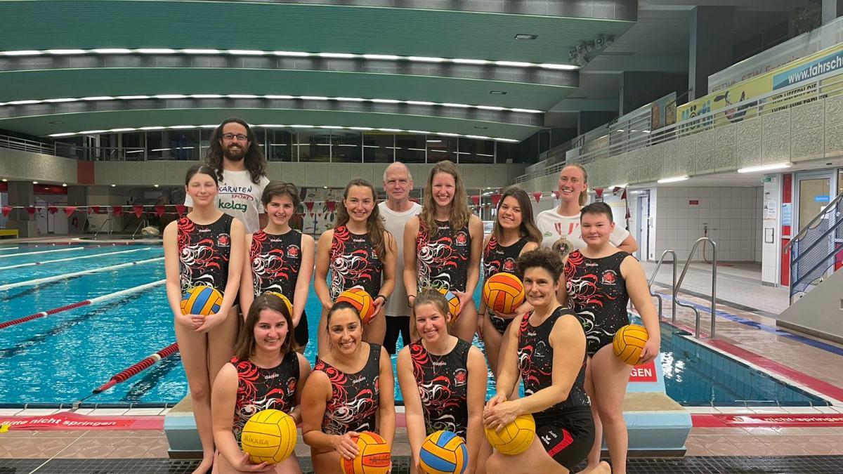 Slika: Del letošnje ženske ekipe SV Wörthersee. (7 igralk manjka na sliki).